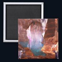 Glittering Caves Magnet