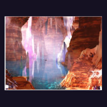 Glittering Caves Postcard