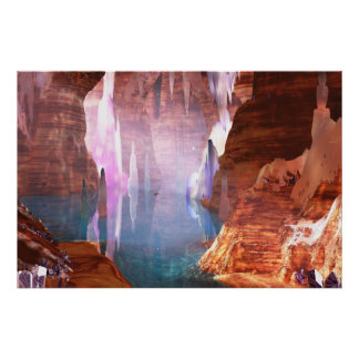 Glittering Caves Print