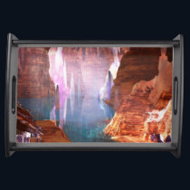 Glittering Caves Serving Tray