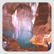 Glittering Caves Stickers