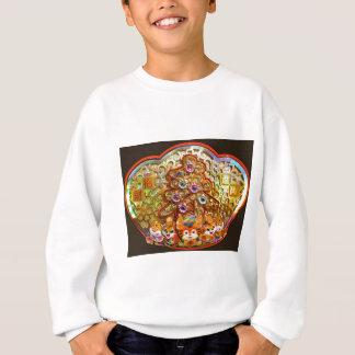 Glittering Christmas medallion Sweatshirt