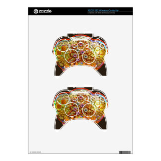 Glittering Christmas ornament Xbox 360 Controller Decal