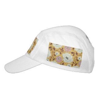 Glittering Fall Floral Brocade Tapestry Hat