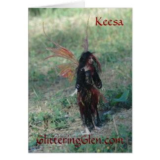Glittering Glen NoteCard - Keesa Greeting Cards