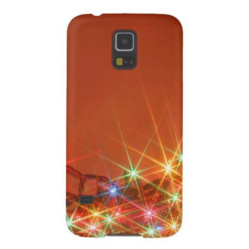 Glittering seasonal lights cases for galaxy s5