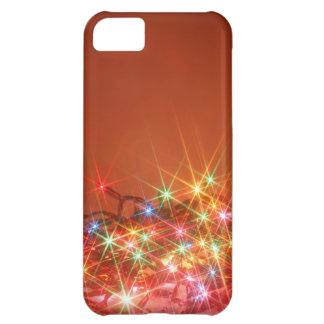 Glittering seasonal lights iPhone 5C cover