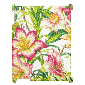 Glittering Spring Floral Tapestry Cover For The iPad 2 3 4