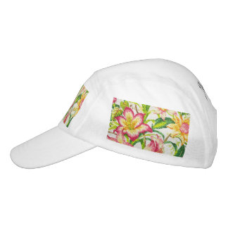 Glittering Spring Floral Tapestry Hat