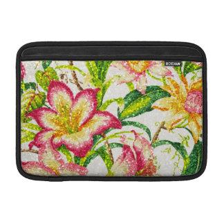 Glittering Spring Floral Tapestry MacBook Air Sleeves