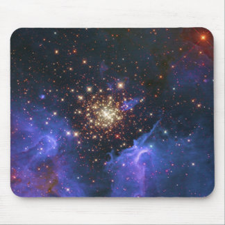 Glittering Star Cluster and Interstellar Gas Cloud Mousepad
