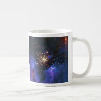 Glittering Star Cluster and Interstellar Gas Cloud Mugs