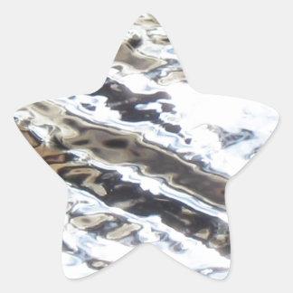 Glittering Star Sticker