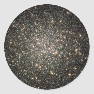 Glittering Stars Classic Round Sticker