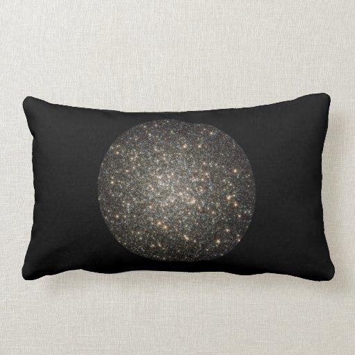 Glittering Stars Throw Pillow