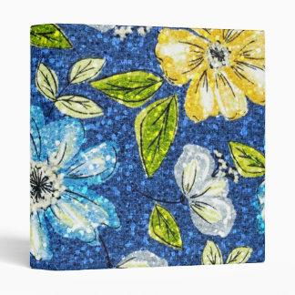 Glittering Tapestry Floral Binder