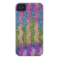 Glitters in Waves Case-Mate iPhone 4 Cases