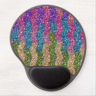 Glitters in Waves Gel Mouse Pad