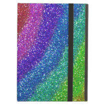 Glitters Rainbow Case For iPad Air