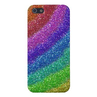Glitters Rainbow Case For iPhone 5