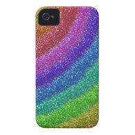 Glitters Rainbow Case-Mate iPhone 4 Case