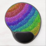 "Glitters Rainbow Gel Mouse Pad<br><div class=""desc"">Featuring glitters in rainbow colours.</div>"