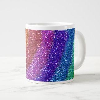 Glitters Rainbow Giant Coffee Mug
