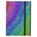 Glitters Rainbow iPad Air Covers