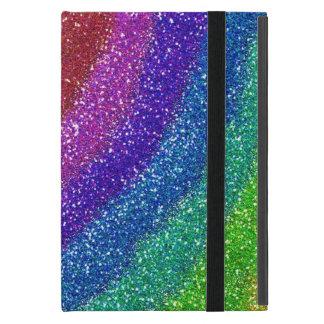Glitters Rainbow iPad Mini Cases
