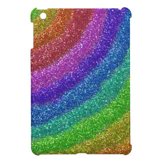 Glitters Rainbow iPad Mini Cover