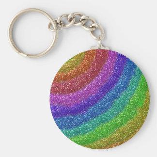 Glitters Rainbow Keychain