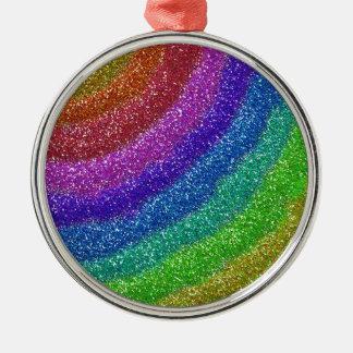 Glitters Rainbow Ornament