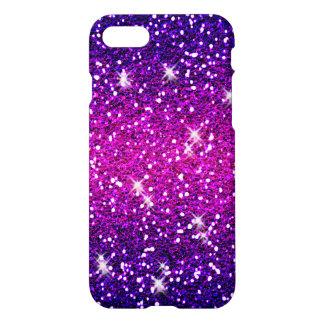 Glitters Sparkles Purple Pink Texture iPhone 7 Case