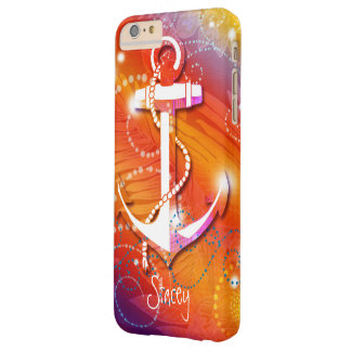 Glittery Anchor Nautical iPhone 6 Plus Case