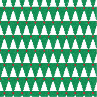 Glittery Christmas Trees Cutout