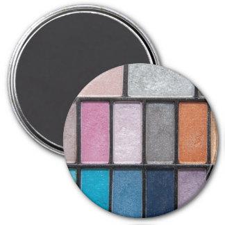Glittery Eyeshadow 3 Inch Round Magnet