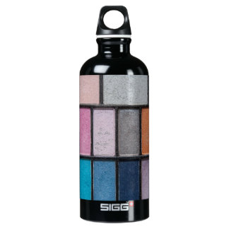 Glittery Eyeshadow Aluminum Water Bottle