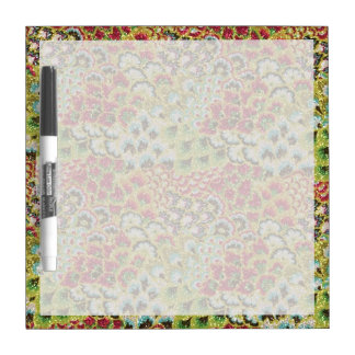 Glittery Fall Floral Tapestry Dry-Erase Board