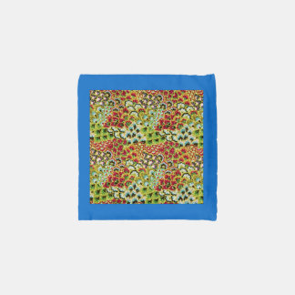 Glittery Fall Floral Tapestry Reusable Bag