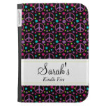 Glittery Flower Child Kindle Fire Case Kindle Keyboard Cases