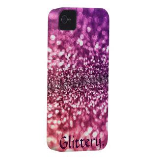 Glittery Glam iPhone 4 Case-Mate Cases