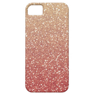Glittery Gold Melon iPhone SE/5/5s Case