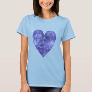 Glittery Heart T shirt
