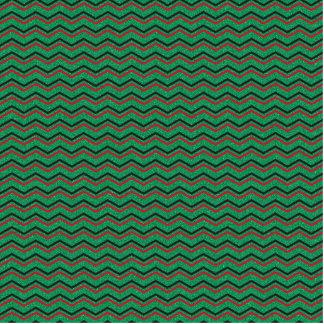 Glittery Holiday Zigzags Cutout