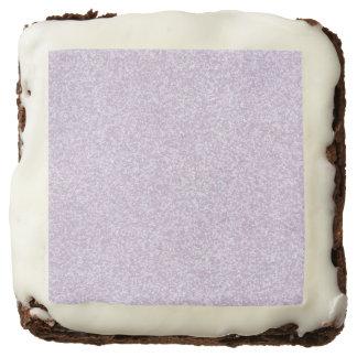 Glittery Lavender Brownie