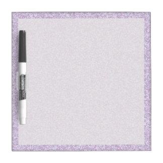 Glittery Lavender Dry Erase Board
