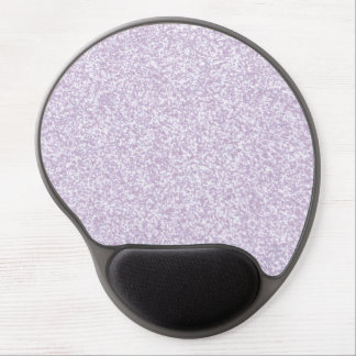 Glittery Lavender Gel Mouse Pads