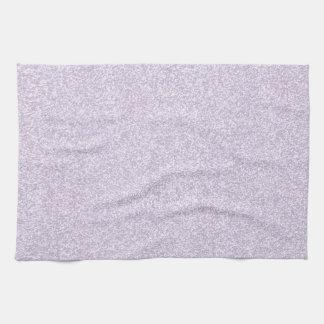 Glittery Lavender Kitchen Towels