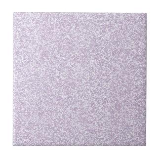Glittery Lavender Small Square Tile