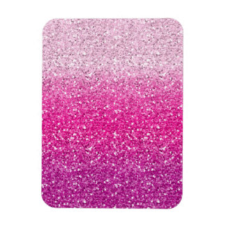 Glittery Pink Ombre Magnet